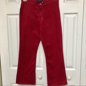 Buffalo David Bitton red straight cut jeans 👖